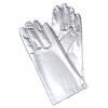 Gloves Metallic Silver